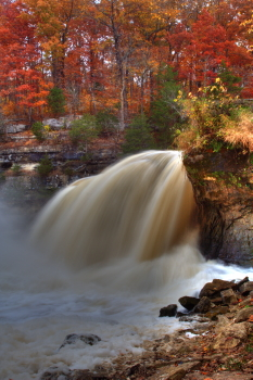Captured Solitude - Cataract Falls - Upper Falls